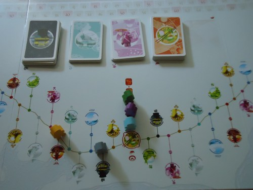 Tokaido Middle 1/3 of the Board
