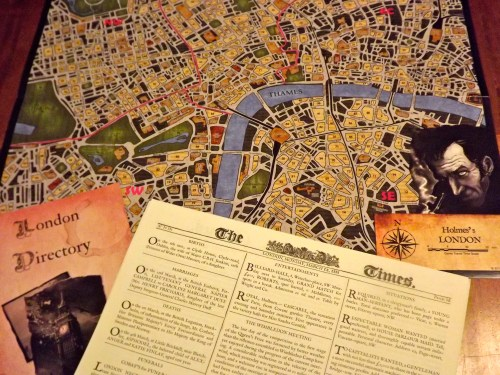 Sherlock Holmes Map and Directory