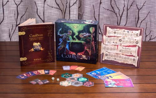 CAULDRON-game