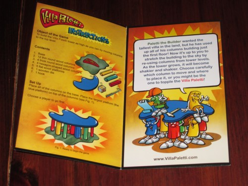 The Wiggles 3D edition of the rules. Very cartoony, and not as fun as the Zoch edition rules, available on BGG.