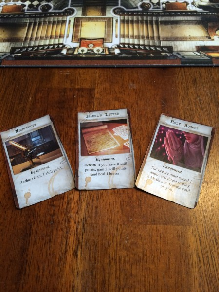 Mansions of Madness Items