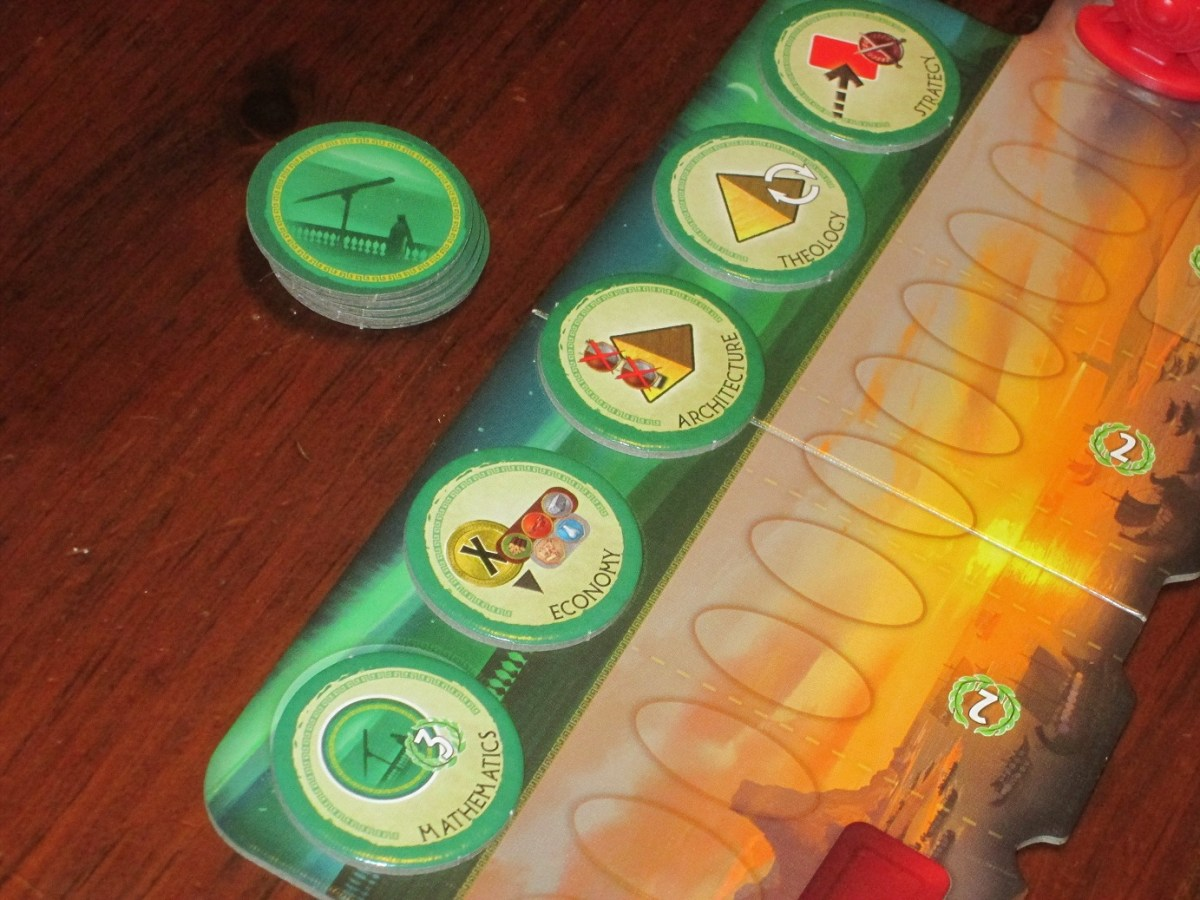 Review: 7 Wonders: Duel image