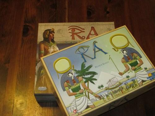Ra versions