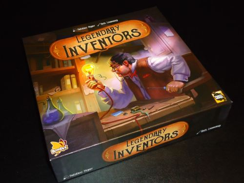 Legendary Inventors - Box