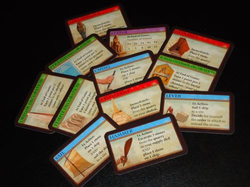 Imhotep Cards
