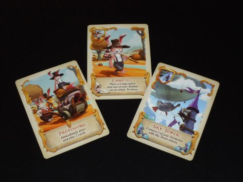 Bunny Kingdom: Camp & Tower Cards