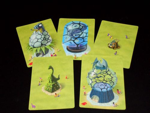 Mesozooic: Cards