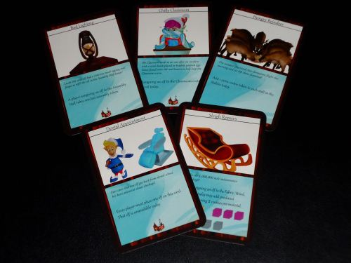 Santa's Workshop: Advanced Cards