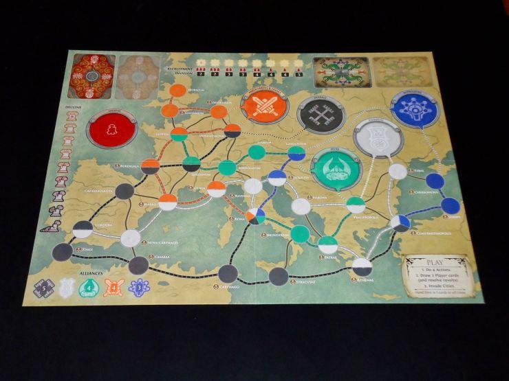 Pandemic Rome: Board