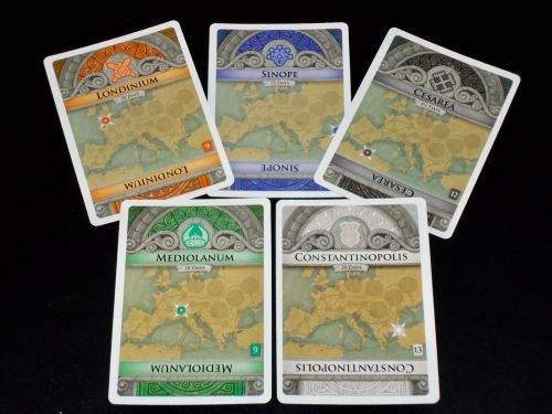 Pandemic Rome: City Cards