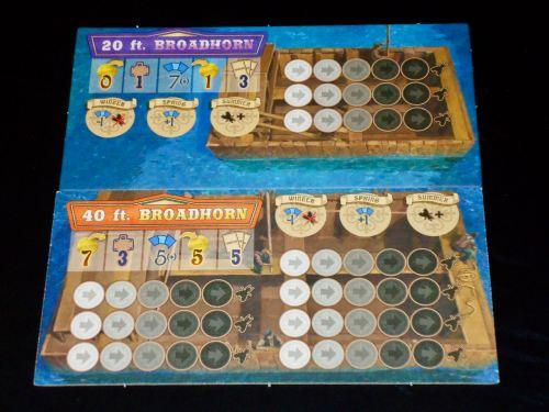 Broadhorns: Boat Tiles