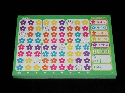 Bloom: Score Pad