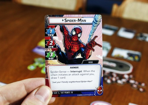 Spider-Man Hero card