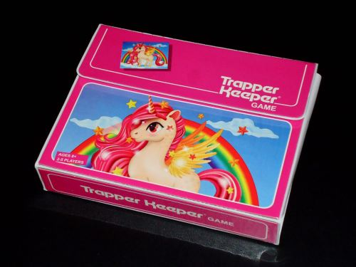 Trapper Keeper Game: Box