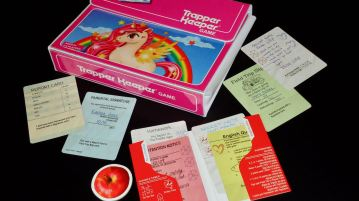Trapper Keeper Game: Feature