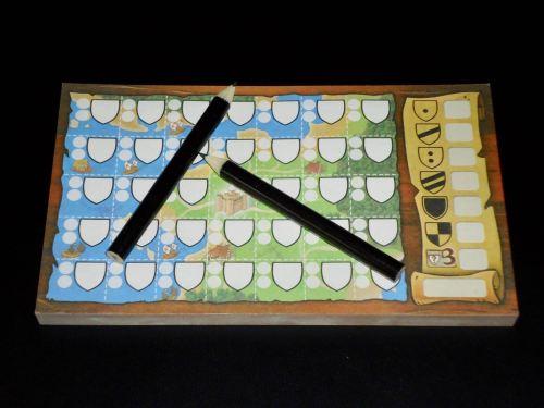 Kingdomino Duel: Score Pad