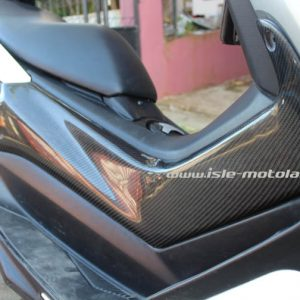Tutup Body Samping  Cover Deltabox NMax  Carbon Kevlar