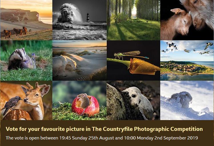 BBC Countryfile Calendar Montage