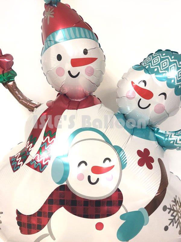 クリスマスバルーンブーケ