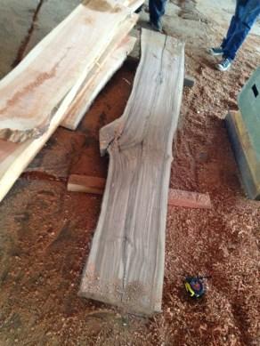 Bar top (laurel wood)