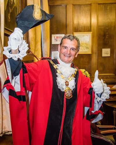 Picture of David Poyser The Mayor of Islington 2018