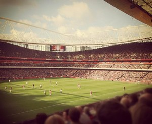 Arsenal's structured debt repayments after constructing the Emirates have left them in a strong financial position. Image: Henry Kirby