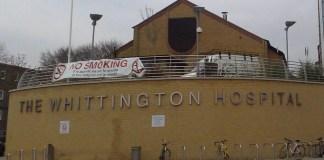 Whittington Hospital. Photo Credit: Mark Hillary