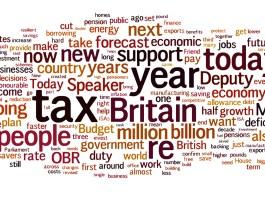 budget 2014 word cloud