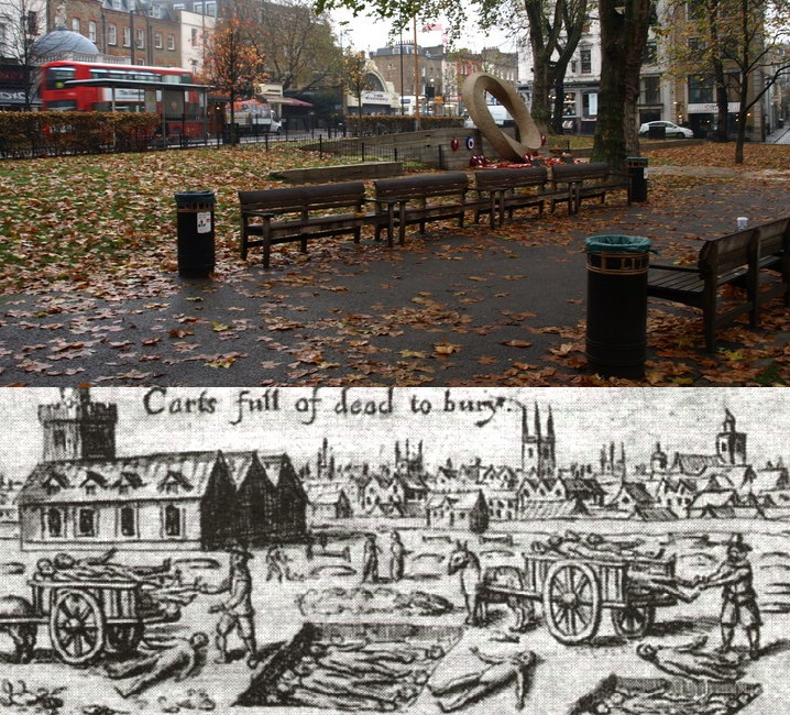 Could there be a plague burial pit underneath Islington Green?