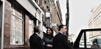 The Duchess of Cambridge at Islington Children's charity Place2Be earlier today