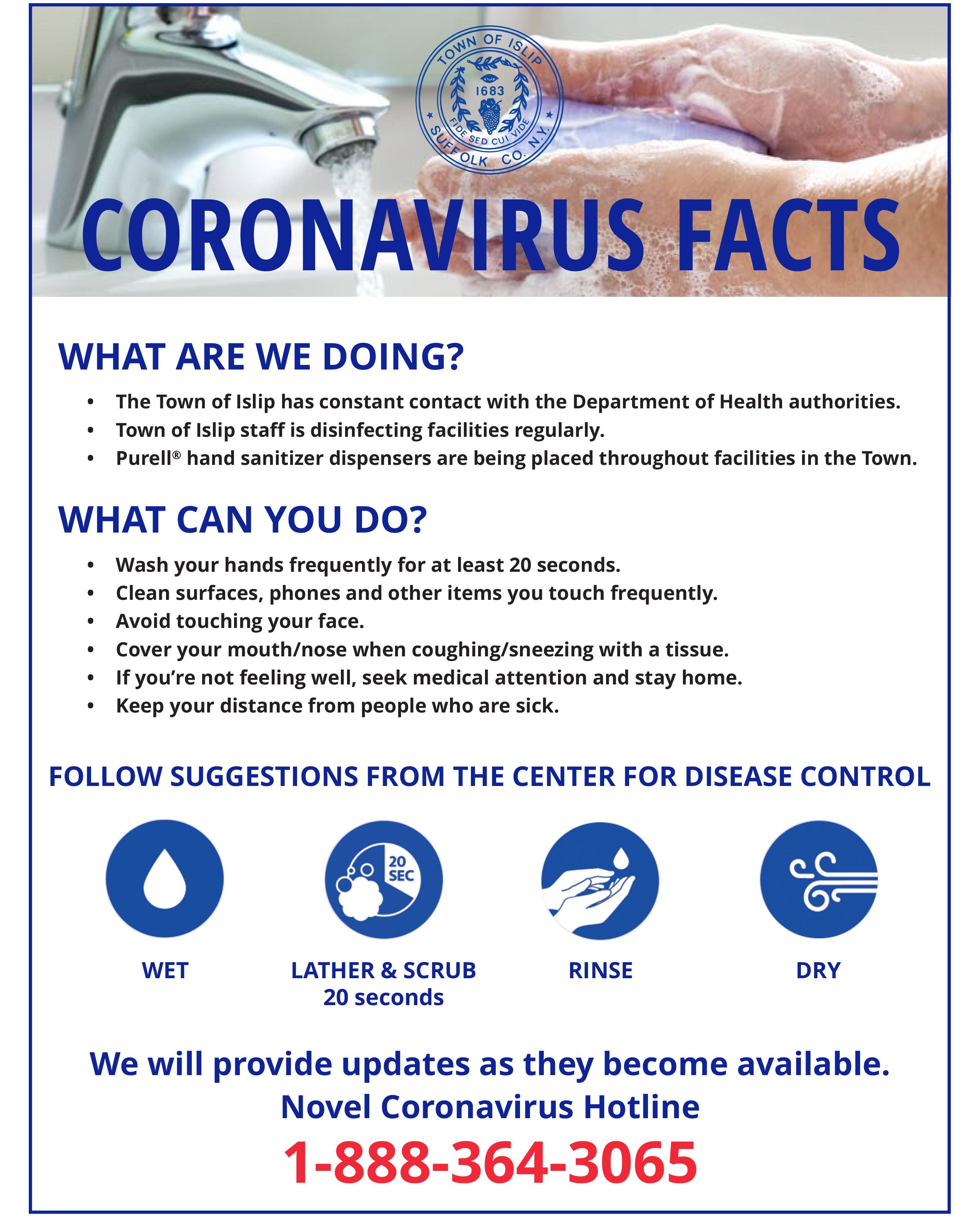 Coronavirus Facts & Info