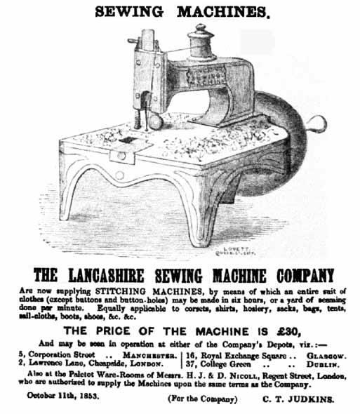The Lancashire Sewing Machine Company