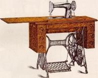 Singer Sewing Machine Cabinet Tables No. 5 and No. 6