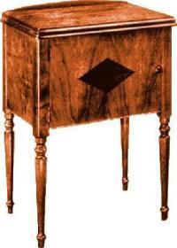 Singer Sewing Machine Cabinet No. 49
