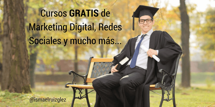Mejores cursos gratuitos online sobre Marketing Digital (algunos con Beca de Analítica Digital)