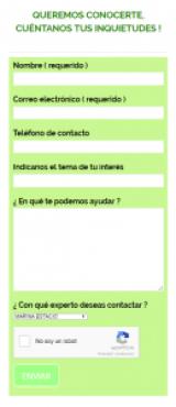 formulario-de-contacto-de-expertos Tips para Emprender