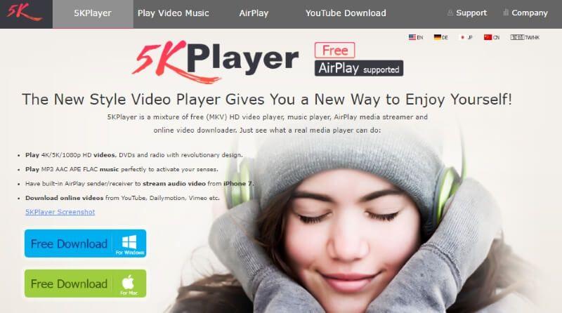 5kplayer descargas gratis de youtuve