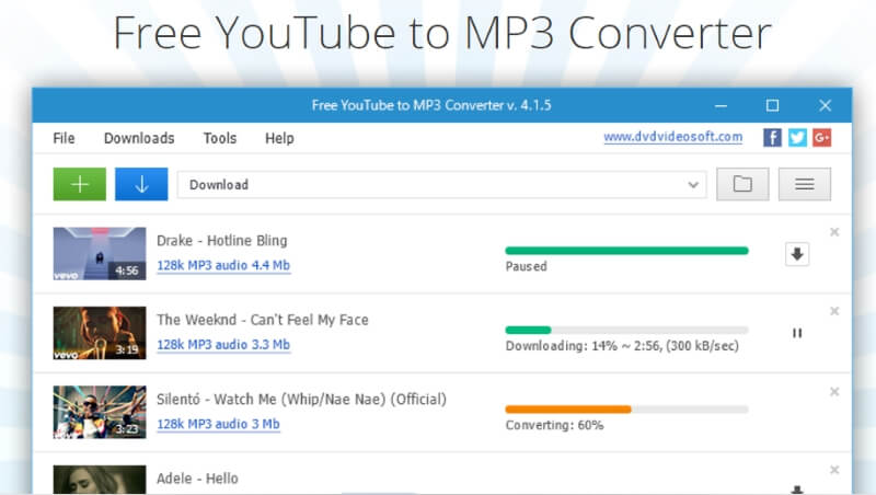 Free YouTube to MP3 Converter gratis convertidor