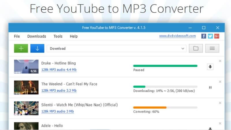 Free YouTube to MP3 Converter gratis convertidor