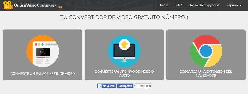 paginas de descargas de videos