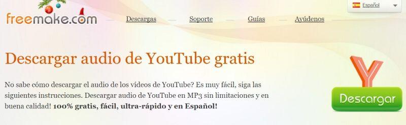 YouTube MP3 Converter de Freemake