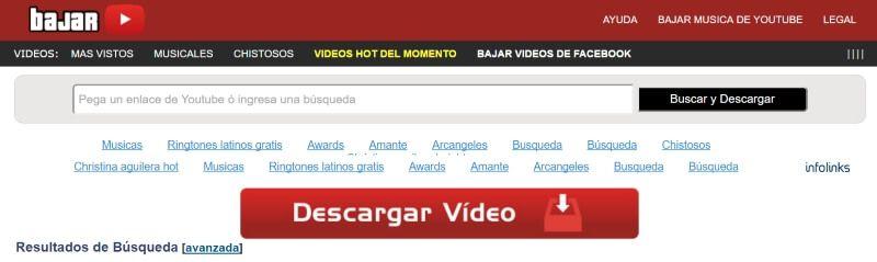 bajar convertidor youtube