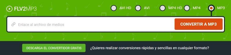 flv2mp3 youtube converter