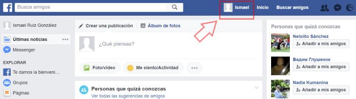 facebook entrar a mi perfil