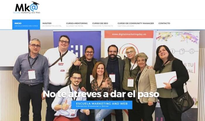 formacion en marketing digital y community manager