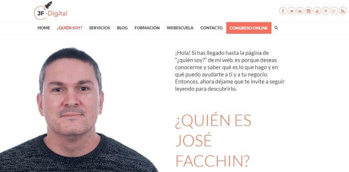 Blog profesional de Jose Facchin