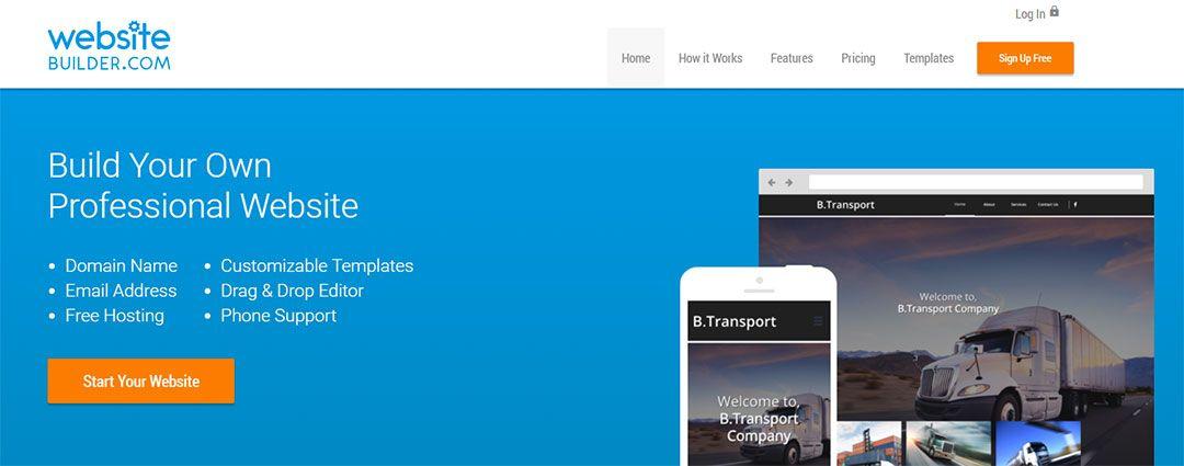 """""""Website Builder"""", la mejor plataforma para un blog gratuito"""
