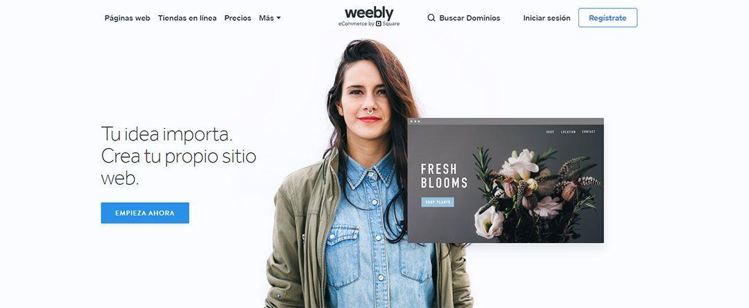 Crear un blog gratuito en Weebly