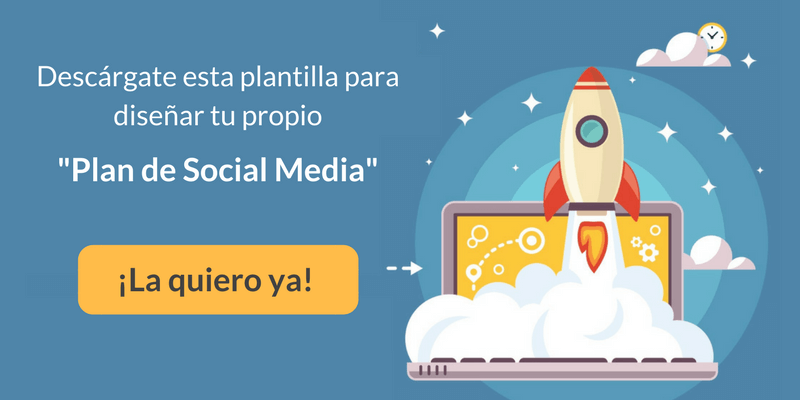 Plantilla para crear un Social Media Plan
