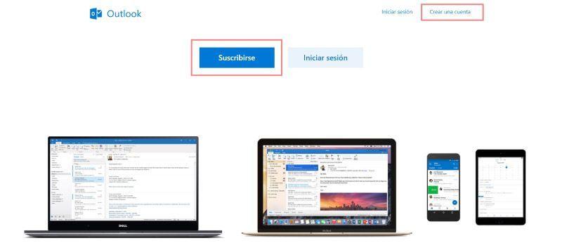 Entra en Outlook.com e inicia sesión en Hotmail